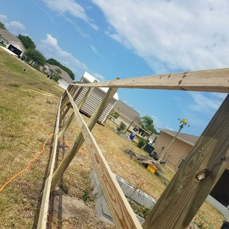 Fence Builders performing fence repair in Wichita Falls