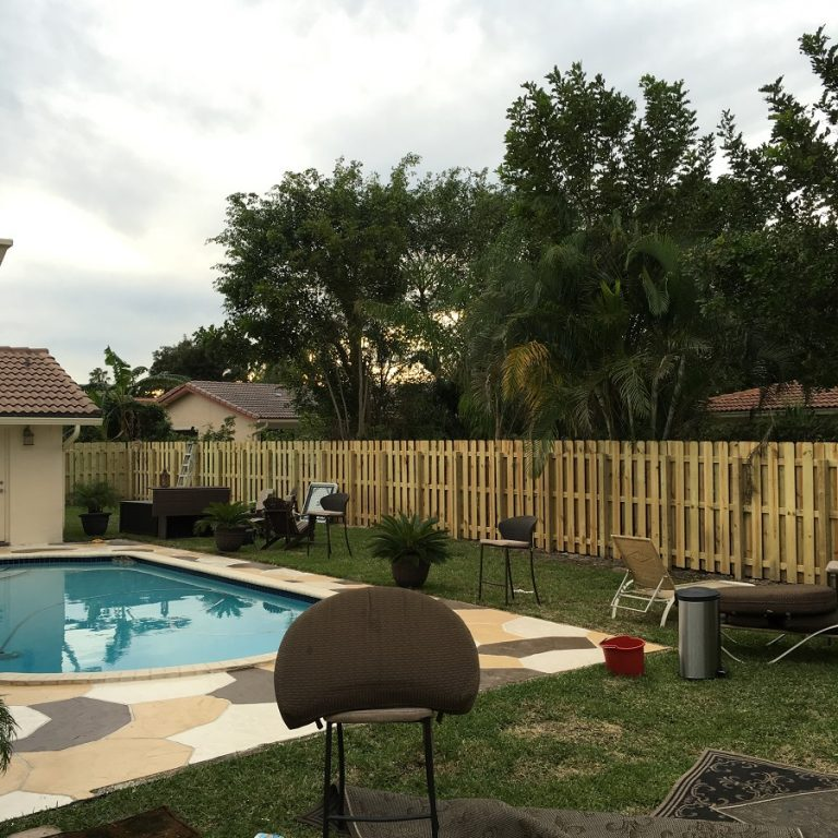 pool fencing installation